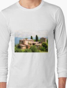 farmhouse in Tuscany, Italy Long Sleeve T-Shirt