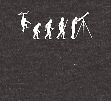 Funny Evolution Of Man Astronomy Unisex T-Shirt