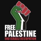 Free Palestine end Israeli Occupation by luckygift