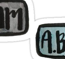 A. Ham, A.Burr Sticker