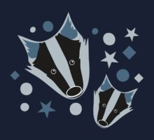 badger pattern Kids Tee