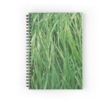 Relaxing Grass Spiral Notebook