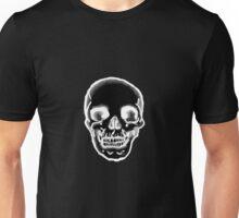 Totenkopf schwarz Unisex T-Shirt