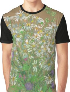 Meadow flowers, floral painting Graphic T-Shirt