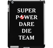 Super Power Dare Die Team! (GBusters China Title) iPad Case/Skin