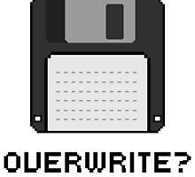 Overwrite? by palbun
