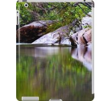Blue Pool Reflections I iPad Case/Skin