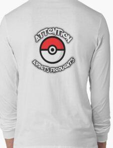 Pokemon Go - Arrêts fréquents Long Sleeve T-Shirt