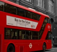 Bus to the future Sticker