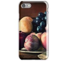 ~ still life with summer fruit ~ iPhone Case/Skin