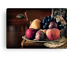 ~ still life with summer fruit ~ Canvas Print