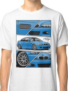 BMW E46 M3 (fragments) Classic T-Shirt