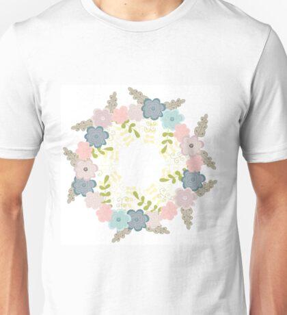 Floral frame 1 Unisex T-Shirt