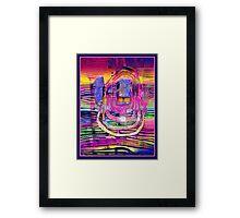 Morningglory Framed Print