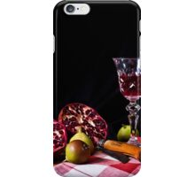 ~ still life with pomegranate ~ iPhone Case/Skin