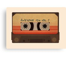 Awesome Mix Vol 1 Canvas Print