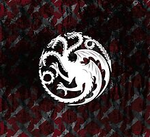 Game of Thrones - House Targaryen by Daniel Bevis