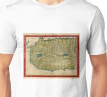Vintage Map of West Africa (1561) Unisex T-Shirt