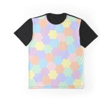Geometric pattern in pastel colors Graphic T-Shirt