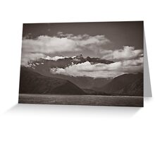 ~ land of the long white cloud ~ Greeting Card