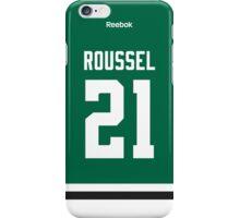 Dallas Stars Antoine Roussel Jersey Back Phone Case iPhone Case/Skin