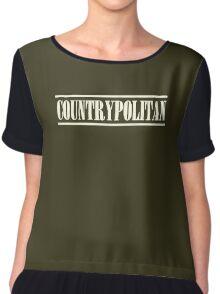 Old Countrypolitan Chiffon Top