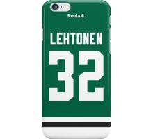 Dallas Stars Kari Lehtonen Jersey Back Phone Case iPhone Case/Skin