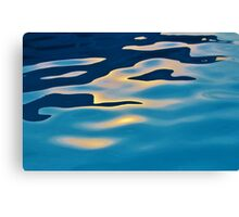 Sun Reflection In Pool Canvas Print