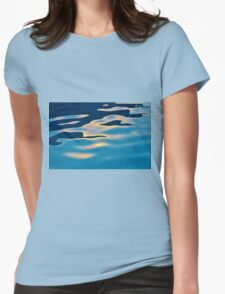 Sun Reflection In Pool Womens Fitted T-Shirt