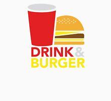 Drink & Burger Unisex T-Shirt