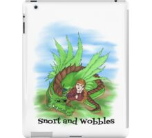 Snort and Wobbles iPad Case/Skin