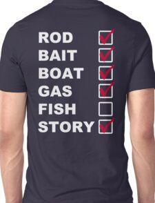 The Fishing List Unisex T-Shirt