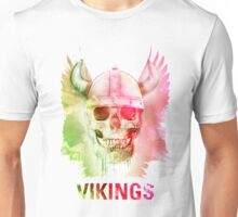 Vikings Skull Unisex T-Shirt