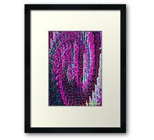 LIFE ATTRACTS LIFE Framed Print