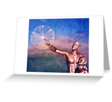 FATHER TO SON ~ THE WONDERS OF LIFE Greeting Card