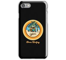 Woody Gone Surfing California iPhone Case/Skin