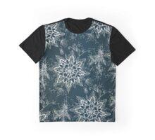 Zendala snowflake demin Graphic T-Shirt