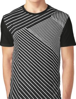 Line Art - Geometric Illusion, abstraction Graphic T-Shirt