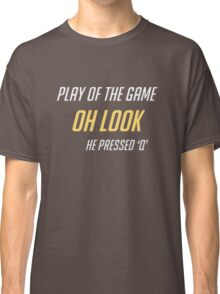 Just Press Q Classic T-Shirt