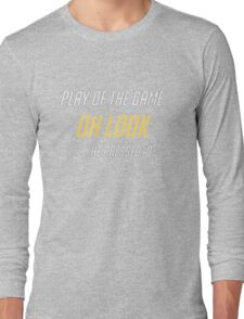 Just Press Q Long Sleeve T-Shirt