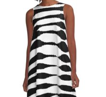 Abstract 140716(03) A-Line Dress