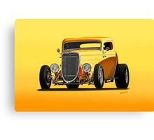 1934 Ford 'Mango Madness' Coupe II Canvas Print