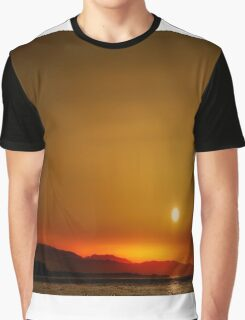Sunset over Esteponas, Andalusia, Spain Graphic T-Shirt