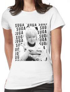 BTS Suga Womens Fitted T-Shirt