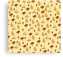 Autumn pattern 2 Canvas Print
