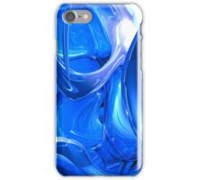Twisted In Blue iPhone Case/Skin