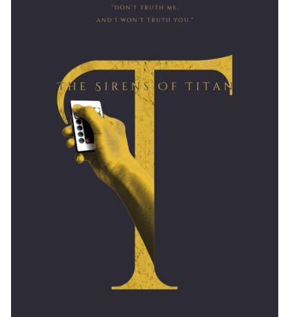 The Sirens of Titan, Kurt Vonnegut Sticker