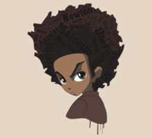 Huey Freeman - Black Power by hypetees