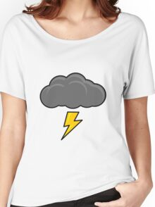 Cartoon Thundercloud!! Women's Relaxed Fit T-Shirt