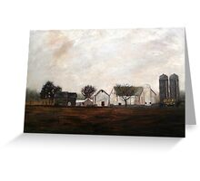 Verdant View Farm and B & B Greeting Card